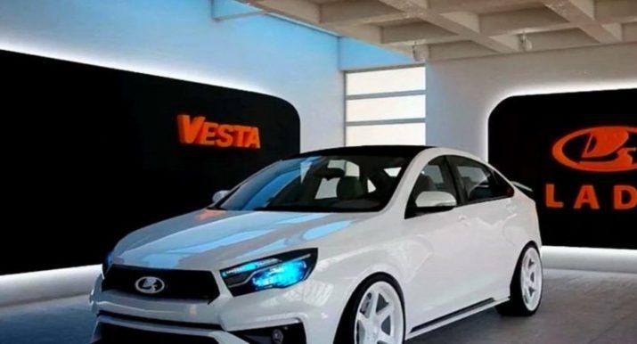 Шпионы засекли прототип нового универсала Lada Vesta во время испытаний