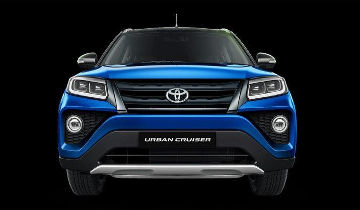Toyota Urban Cruiser перед