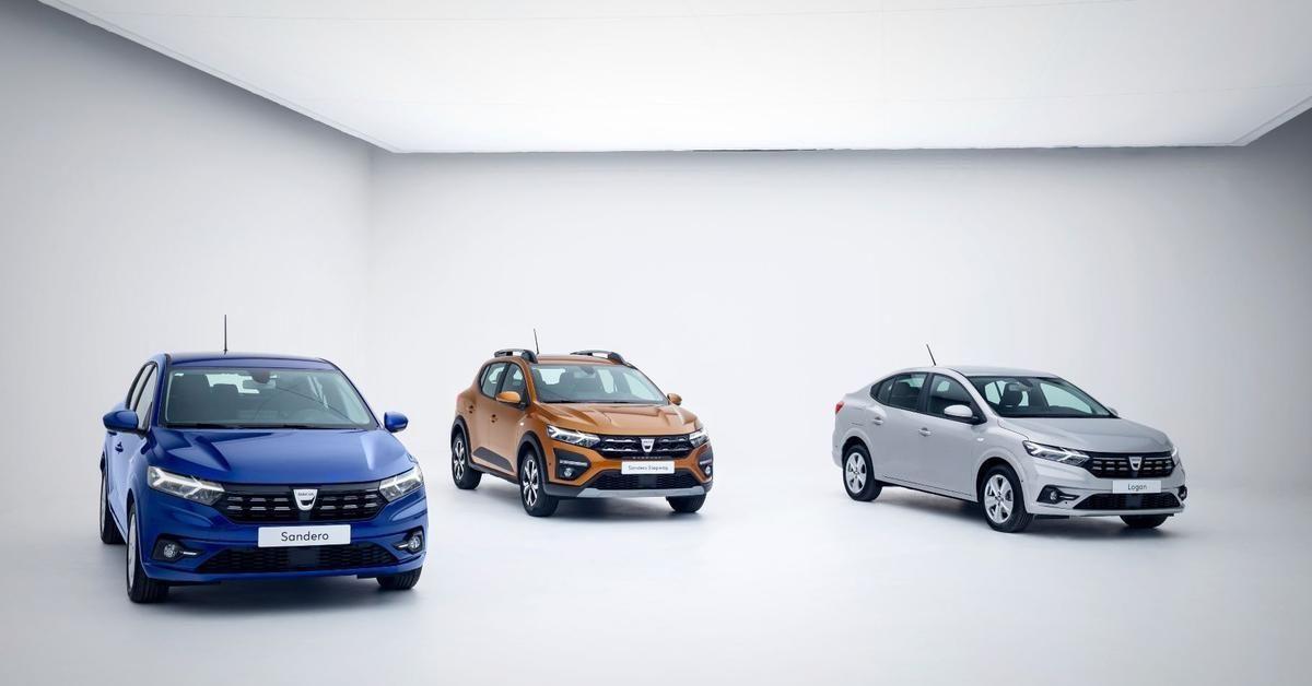 Logan и Sandero нового поколения - бренд Dacia от Renault показал новинки