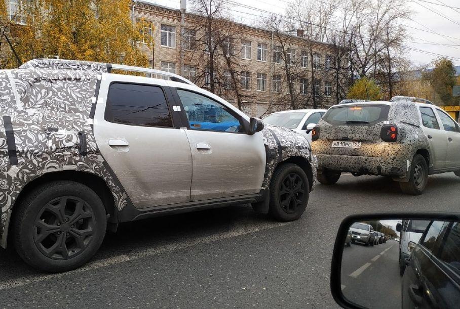 Рестайлинговый Renault Duster для РФ – появились новые фото