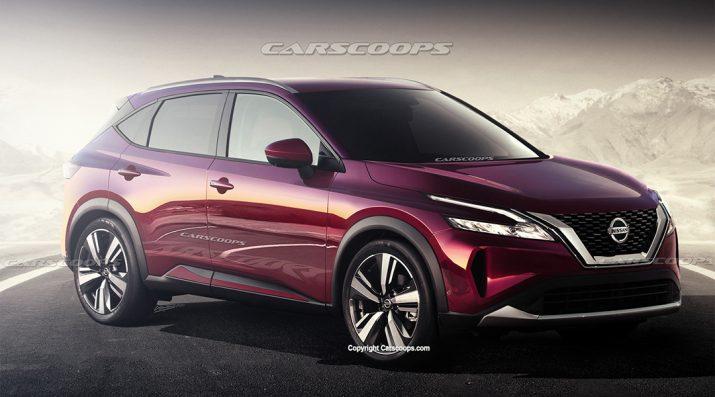 Nissan Qashqai - в Сети опубликовали изображение новинки