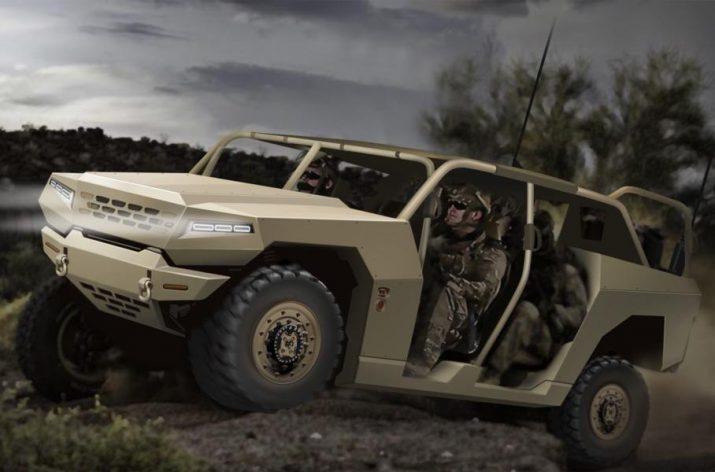 Военные вездеходы Kia – компания занялась созданием авто