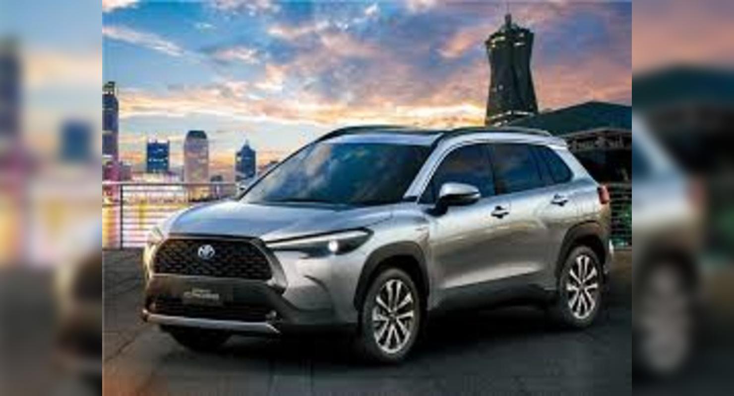 Corolla Cross – Toyota оформила патент на кроссовер в Европе