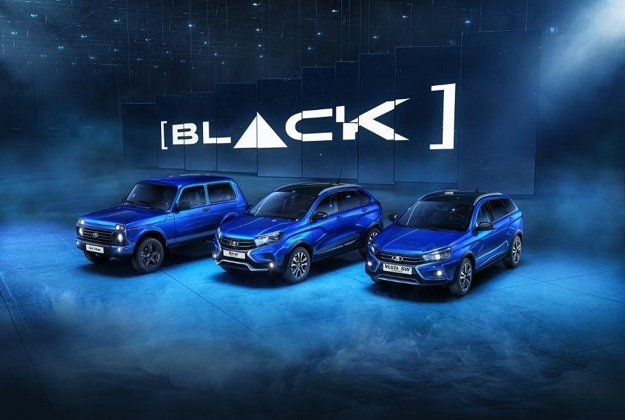 Стала известна стоимость Lada 4х4 и XRay Cross в вариации Black