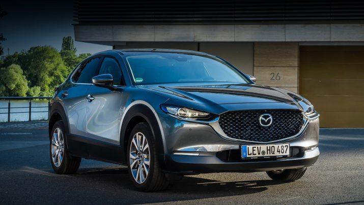 Mazda CX-30 в РФ стартуют в скором времени
