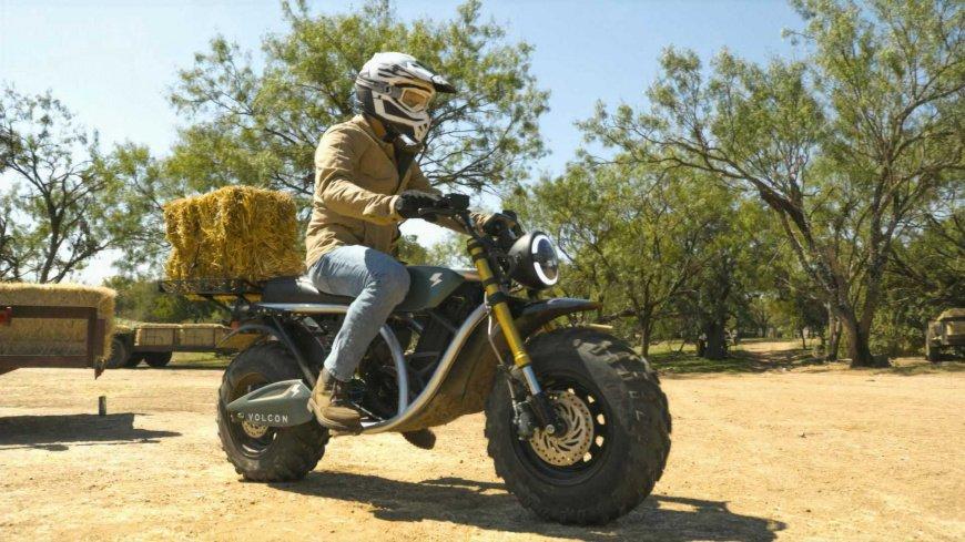 Volcon продемонстрировал электромотоцикл Grunt