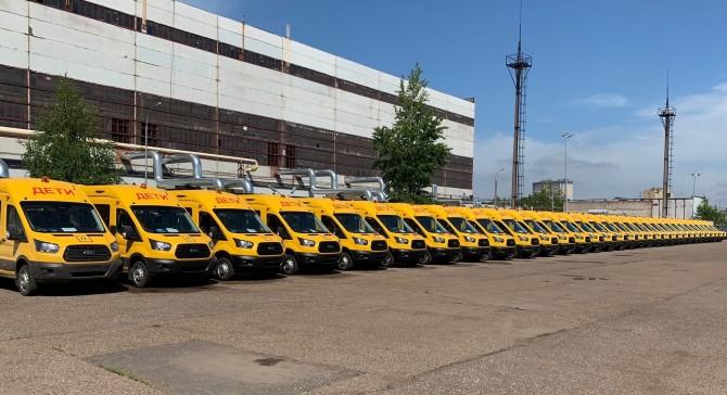 362 школьных автобуса в 50 субъектов страны – такой заказ сделали «Соллерс Форд»