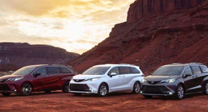 Toyota Sienna 2021 - в модели больше не будет пылесоса и холодильника