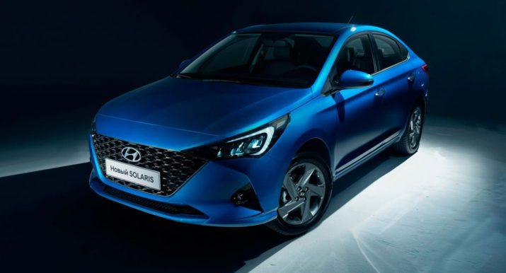 Кросс-седан Hyundai Solaris – в Сети появились рендеры