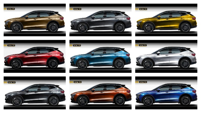 Kia Sportage - первые изображения рестайлинговой версии уже в Сети