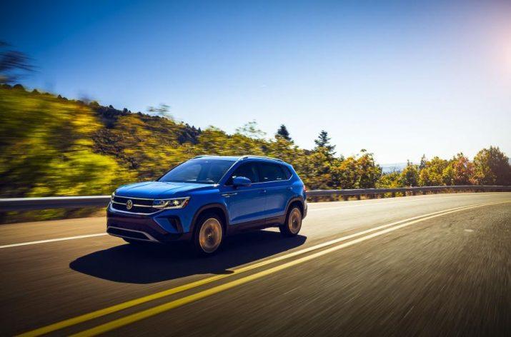 Volkswagen Taos - компания продемонстрировала новый кроссовер