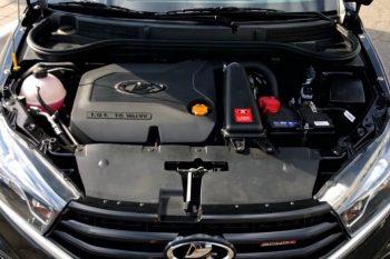 Турбомотор на 175 лошадиных сил на Lada Vesta Sport