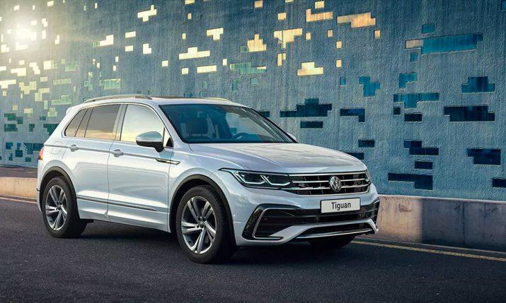 Совсем скоро появится новый Volkswagen Tiguan