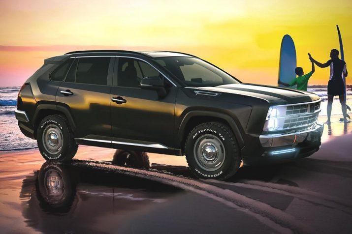 Обновленный Toyota RAV4 и старый Chevrolet Tahoe объединили в одну модель
