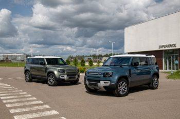 В РФ начали продавать новый Land Rover Defender