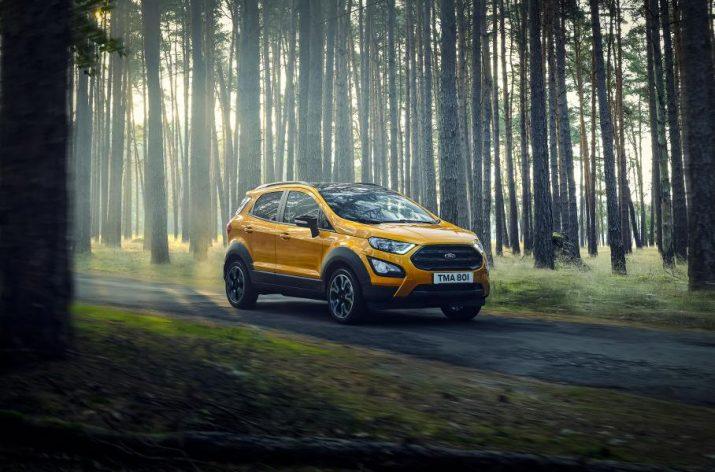 Компания Ford продемонстрировала новый EcoSport Active