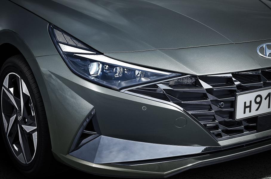 Hyundai продемонстрировал обновленную Elantra для РФ