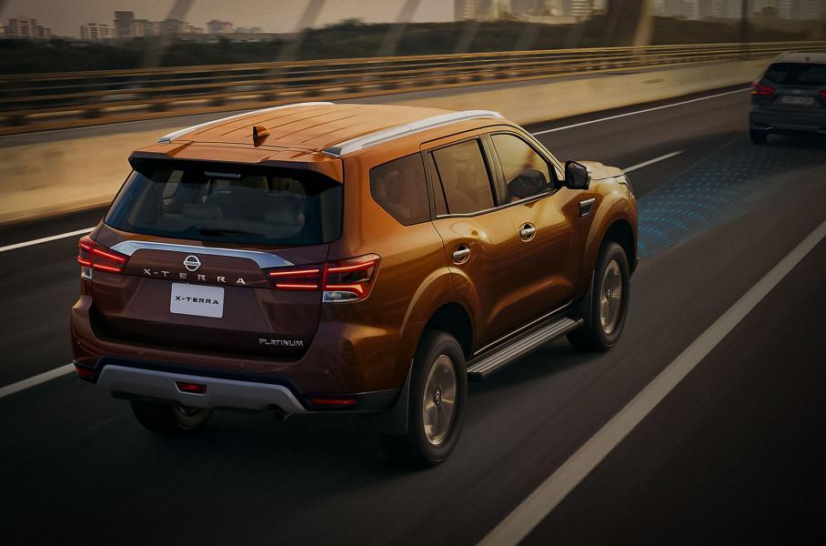 Бренд Nissan продемонстрировал рамный внедорожник X-Terra