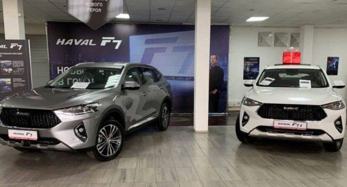 В октябре текущего года количество продаж китайских авто в России увеличилось на 60 процентов