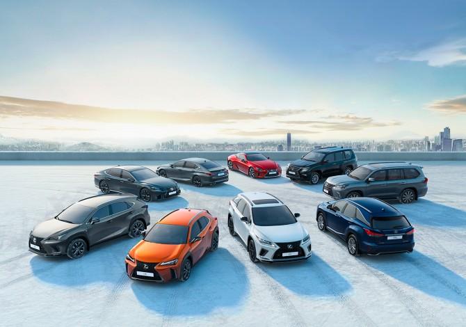 На европейском авторынке продано свыше миллиона авто Lexus