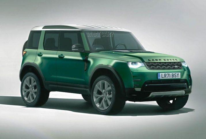 Доступный внедорожник от Land Rover - модель ожидают через 2 года