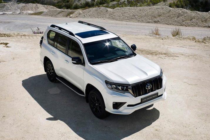 В РФ на рынок поступила спецвариация Toyota Land Cruiser Prado