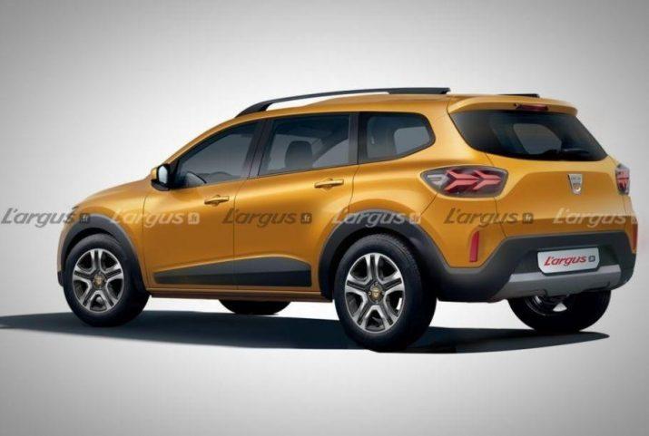 Renault будет производить 7-миместный кроссовер на основе Sandero