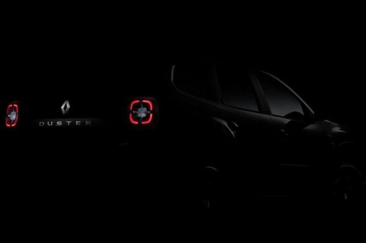 Renault продемонстрировала изображение рестайлингового Duster для РФ