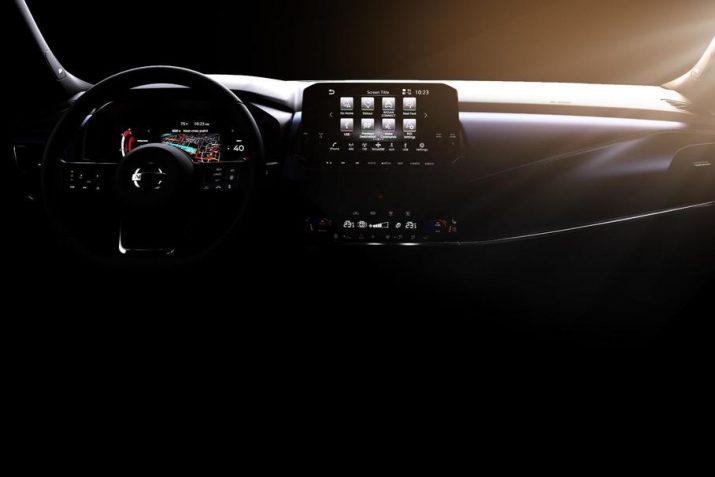 Опубликованы снимки интерьера обновленного Nissan Qashqai
