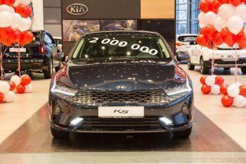 В РФ реализовано 2-миллионное авто марки Kia