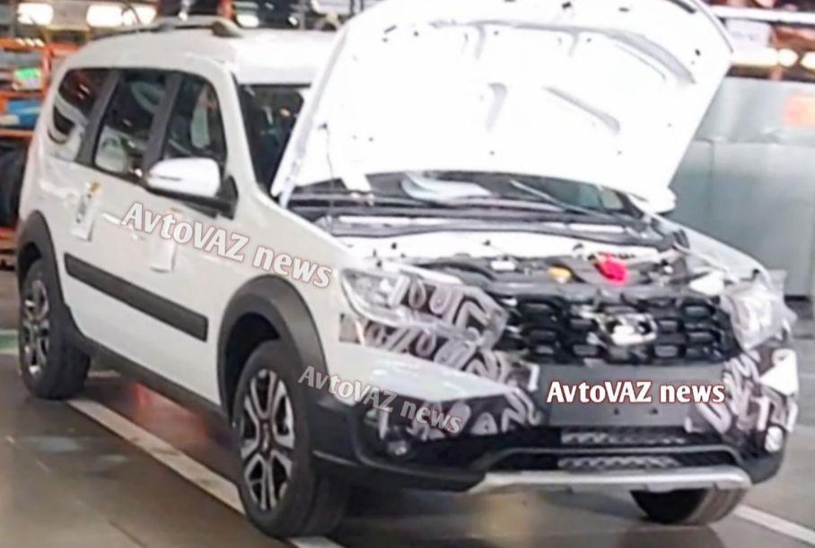 Компания «АвтоВАЗ» занялась предсерийной сборкой рестайлингового Lada Largus