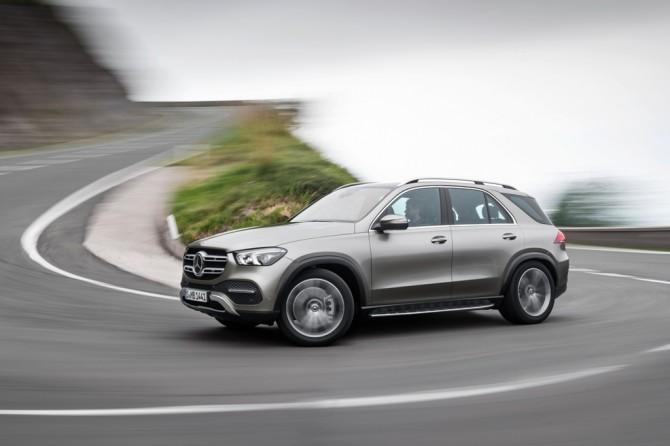 Mercedes-Benz объявляет отзывную кампанию 7000 кроссоверов GLE-класс