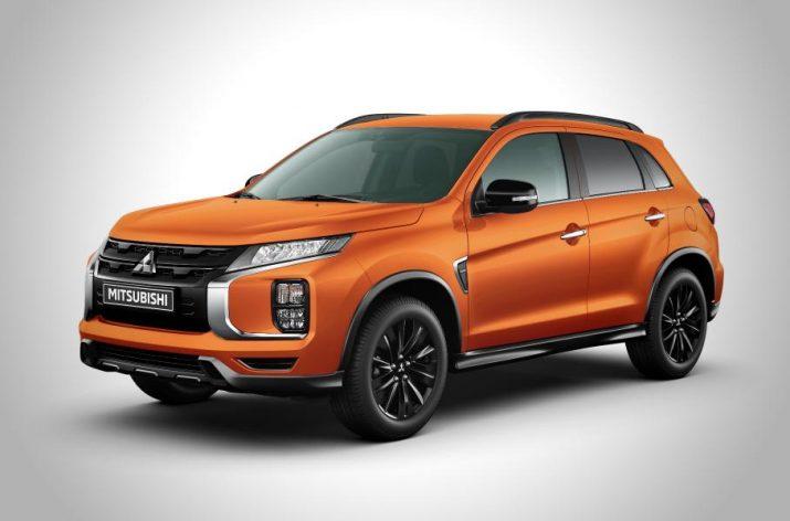 В РФ стали продавать Mitsubishi ASX в «черном» исполнении