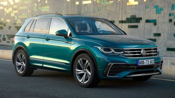 Volkswagen официально продемонстрировал рестайлинговую версию Tiguan для РФ