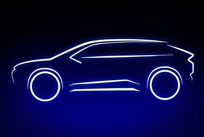 Появился анонс нового электрокроссовера от Toyota
