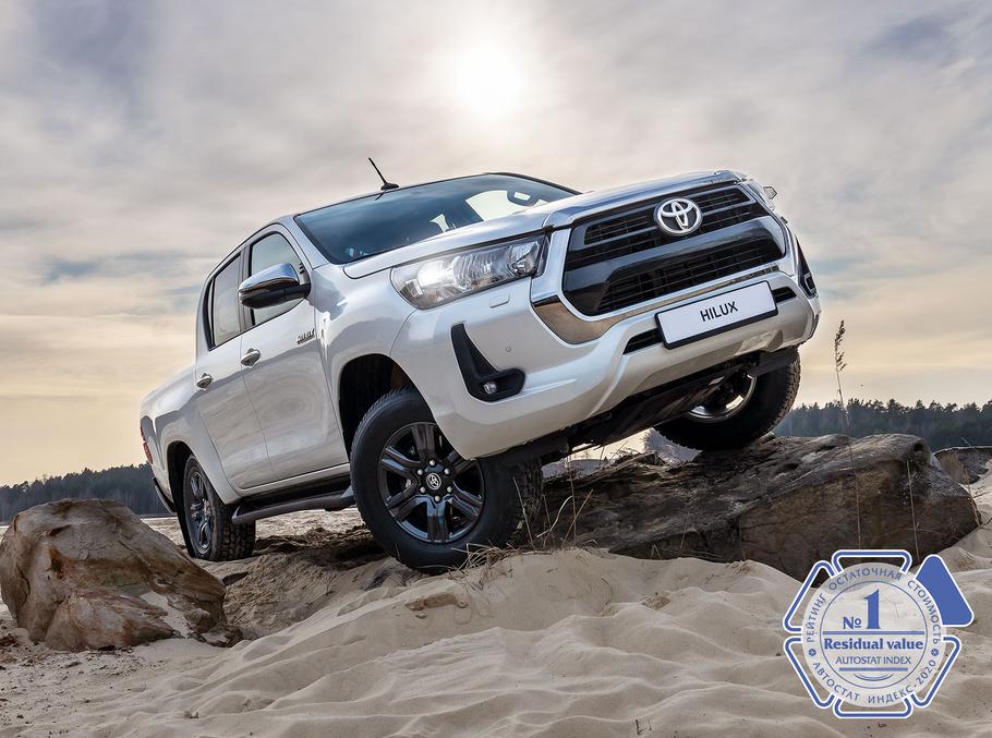 5 машин Toyota оказались лидерами по сохранению остаточной цены
