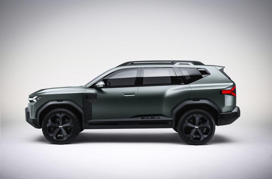 Dacia продемонстрировала новинку-кроссовер