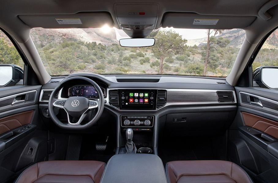 Volkswagen рассекретил детали о рестайлинговом Teramont для РФ