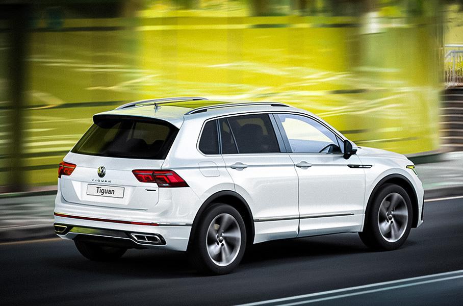 В РФ стал дешевле Volkswagen Tiguan с двигателем на 180 сил