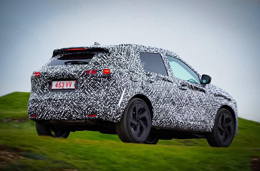 Обновленный Nissan Qashqai представят в 190-сильной вариации без трансмиссии
