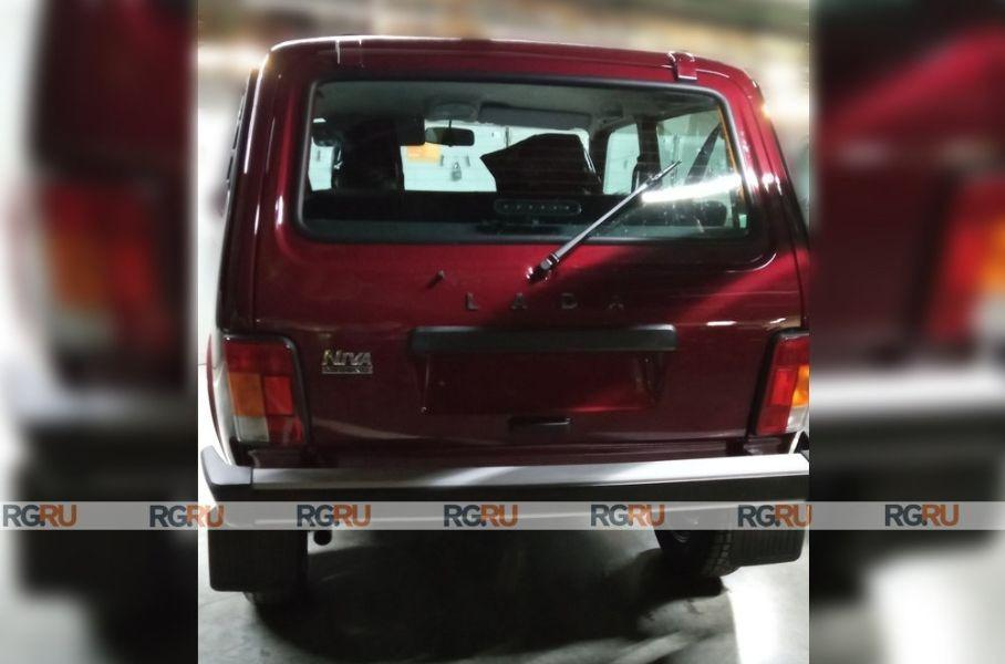 Есть новые снимки Lada Niva Legend
