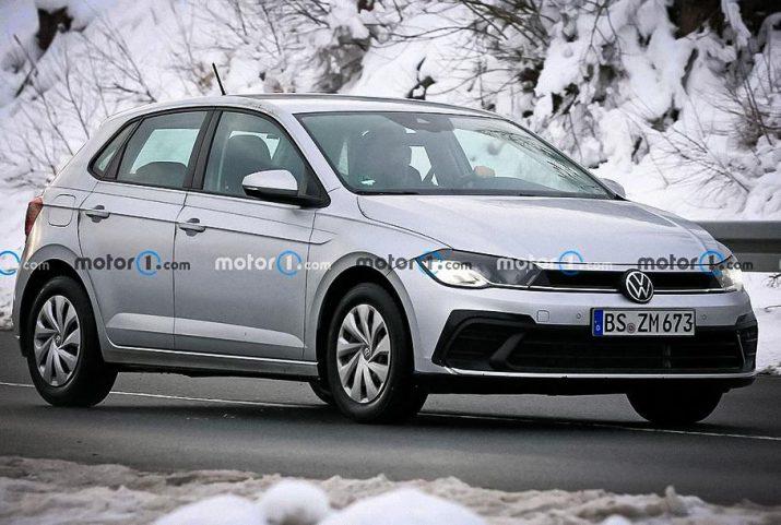 Опубликованы фото шпионов рестайлингового Volkswagen Polo