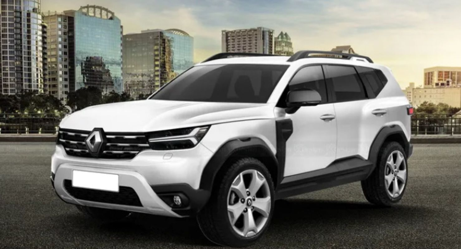 В стиле Dacia Bigster: Renault Duster 2023 изобразили на рендерах