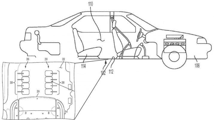 GM оформил патент на массажную систему для ног сжатым воздухом