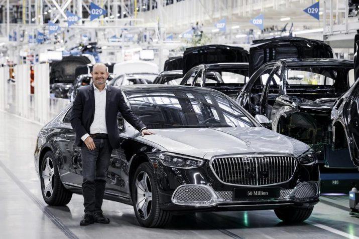 Mercedes-Benz выпустил 50-миллионную машину