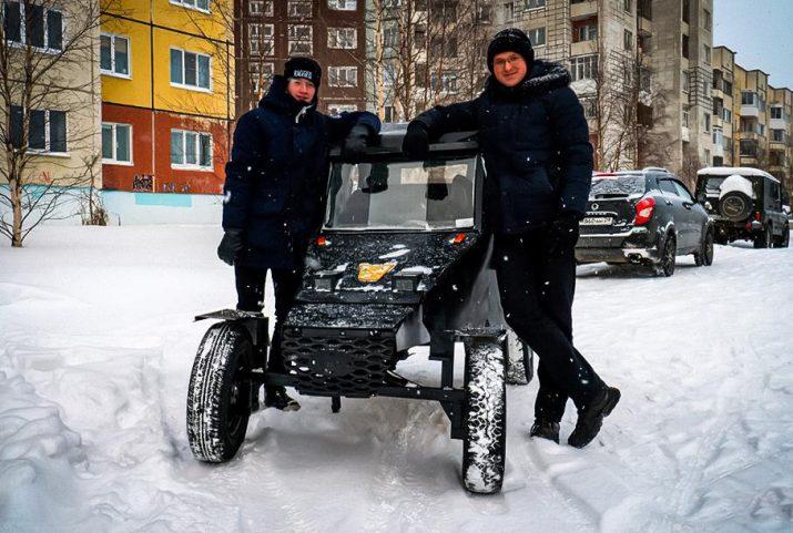 Школьники из России создали машину за 30 тысяч рублей
