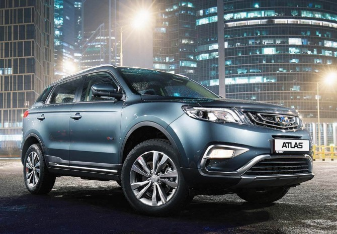 ТОП-10 наиболее реализуемых машин китайских брендов в 2020-ом году