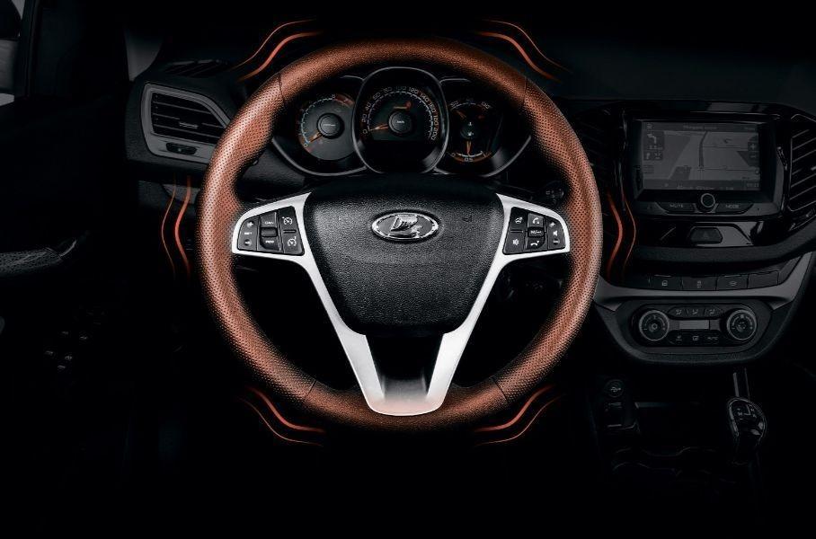 Битопливная Lada Vestа получила 2 новых функции