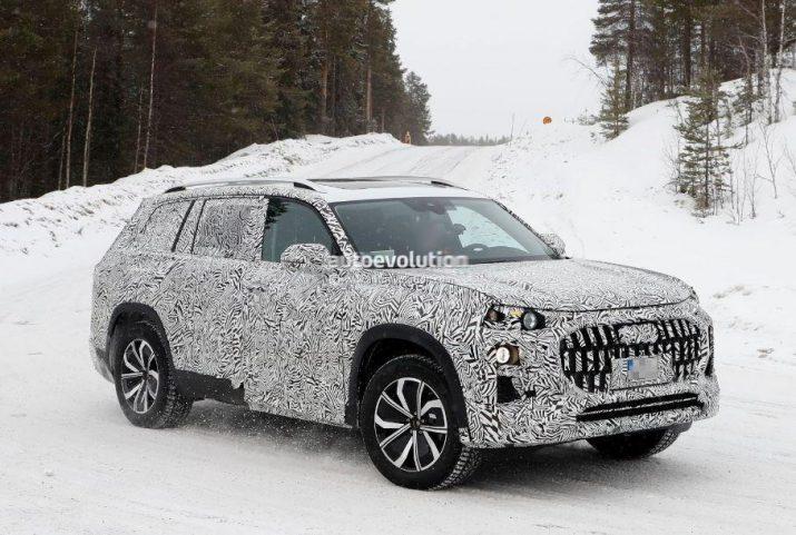 Audi начала тестировать габаритный кроссовер Q9