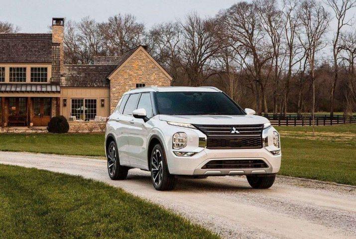 Mitsubishi оформила патент на обновленный Outlander для РФ